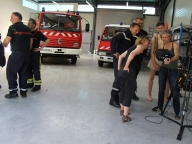 Tournage 11 juin - Pompiers - Plessis-Grammoire